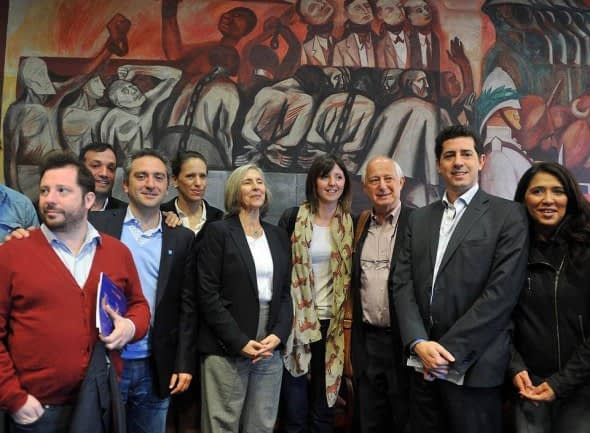 Conversation with young leaders of argentine political and social movements, The New School