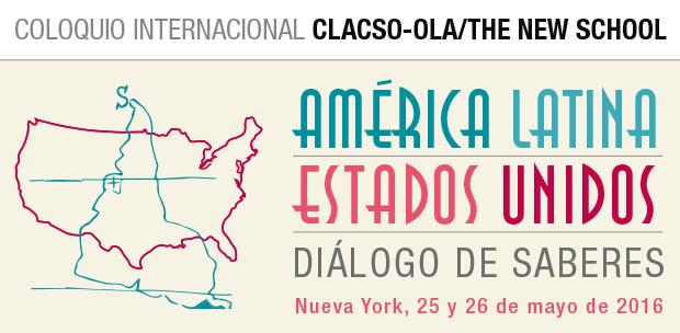 Coloquio Internacional CLACSO-OLA/The New School