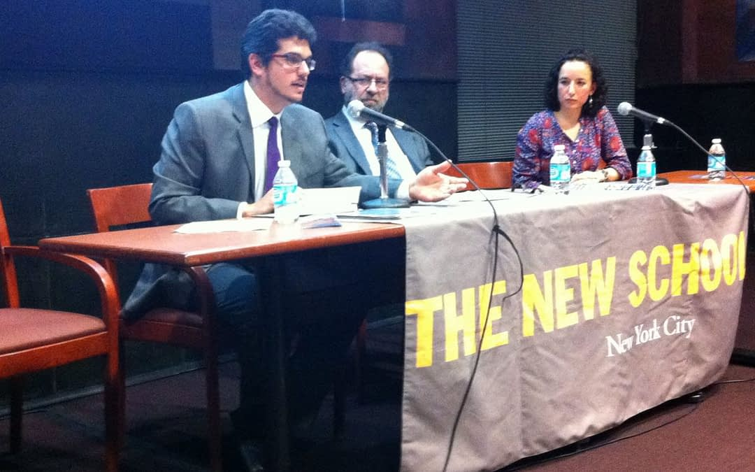 2013-2014 President Néstor Kirchner Fellows offer Public Lecture at The New School