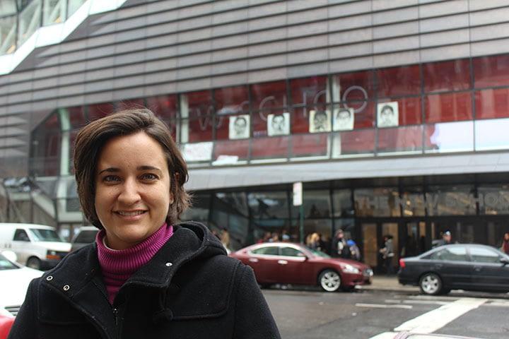 Daniela Gomes Metello, Becaria Presidente Néstor Kirchner 2014-2015, completó exitosamente su estadía de dos semanas en Nueva York
