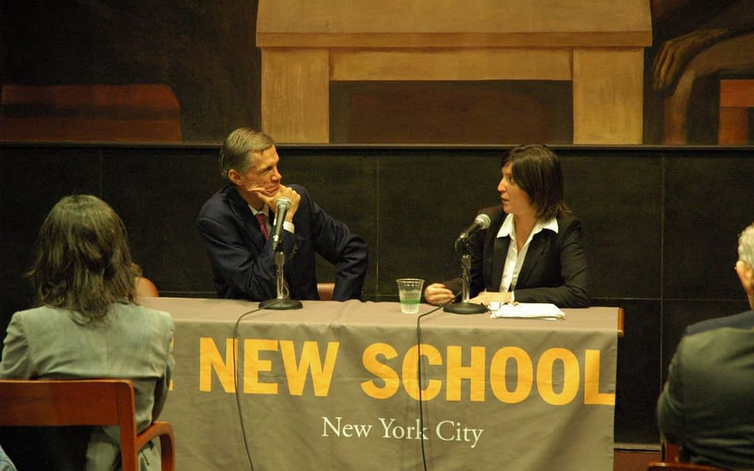 The three 2011-2012 President Néstor Kirchner Fellows completed an intensive agenda in New York