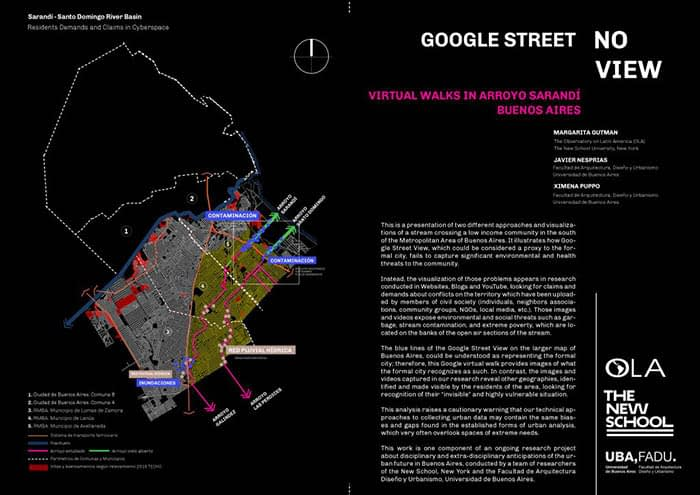 OLA Research Finds 'Digital Divide' in Google Street View of Environmental Issues, Slums