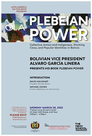 ola2016marchlinera poster plebeianpower final poster