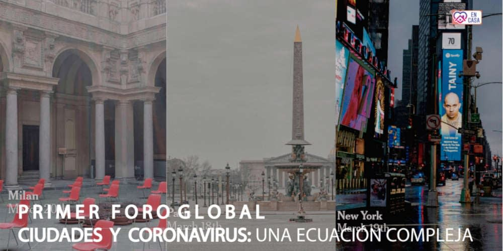 Online International Forum on Cities and the Coronavirus