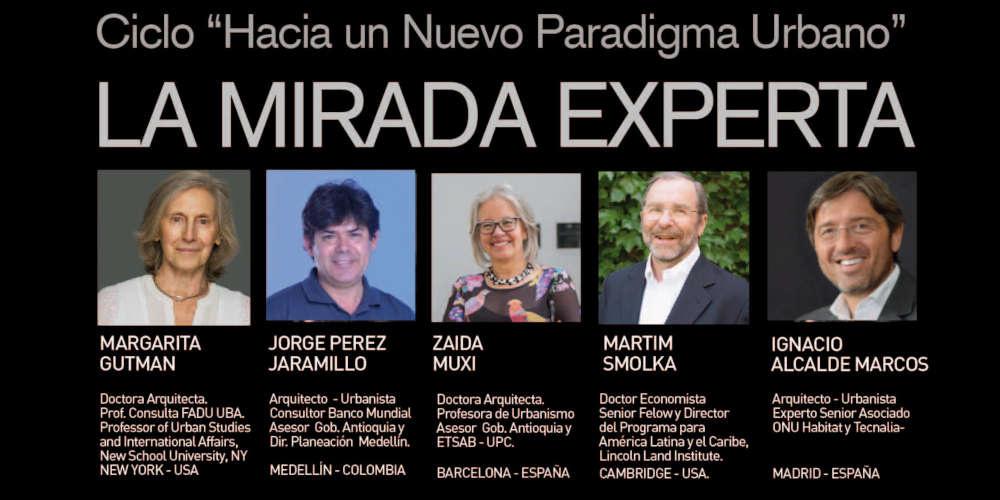 """Margarita Gutman took part at """"Hacia un nuevo paradigma urbano – La mirada experta"""""""