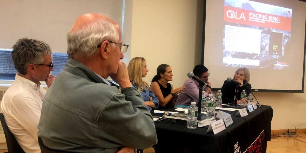 Resumen de evento · Presentación del libro: Enfrentar el riesgo. Nuevas prácticas de resiliencia urbana en América Latina