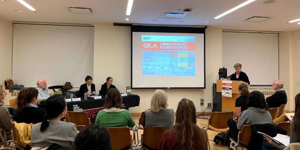 Resumen de evento · Presentación del libro: Urban Policy in Latin America