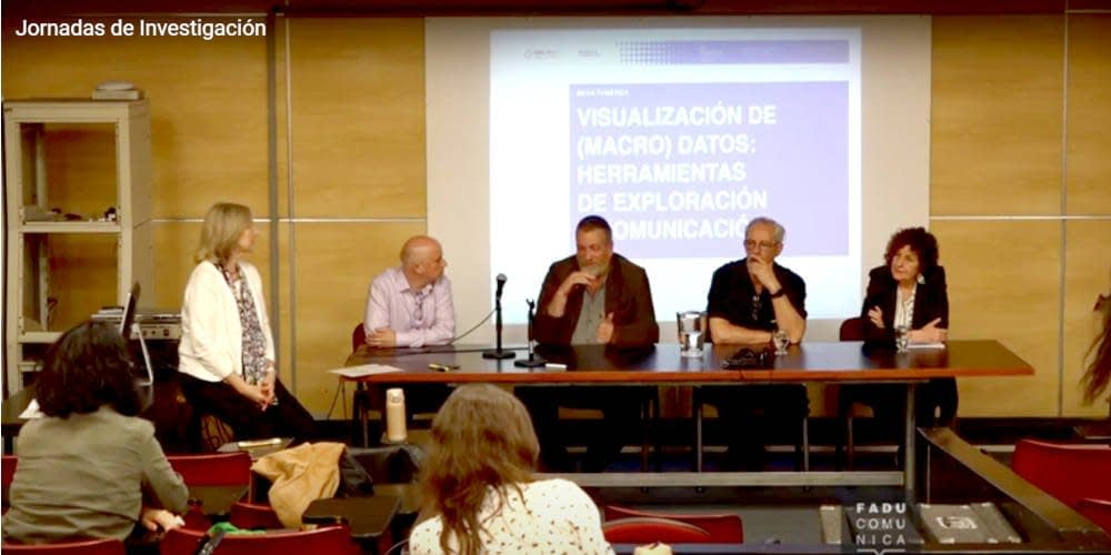 Jornadas de Investigación Si+ Imágenes 2019. Viewing (Macro) Data: Exploration and Communication Tools