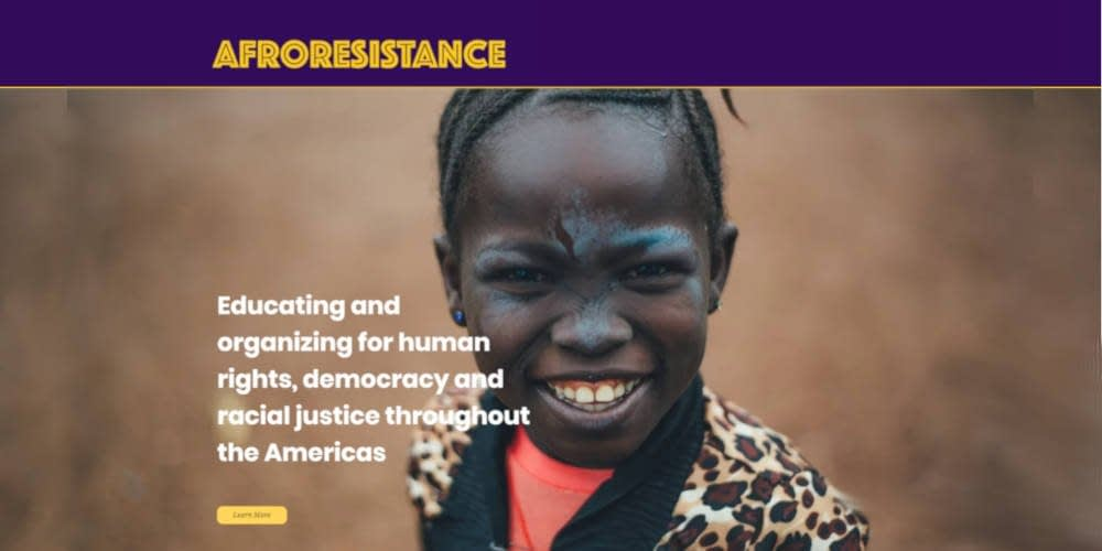 OLA announces new partnership with community-based organization AfroResistance