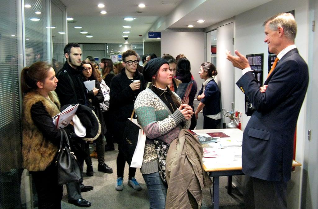 Sesión Informativa de la New School en Buenos Aires