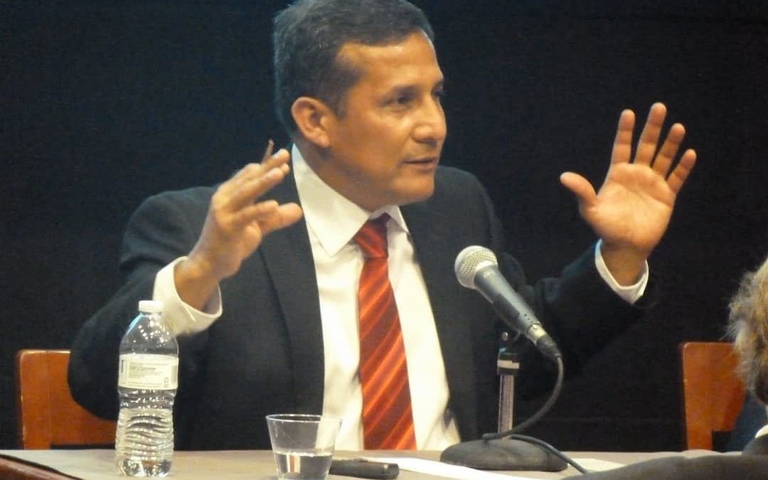 Ollanta Humala, Candidato a Presidente de Perú en The New School