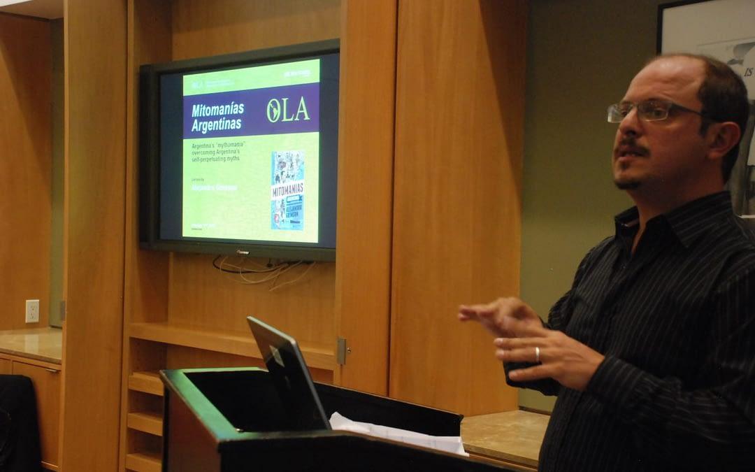 """""""Mitomanías Argentinas"""". Book Presentation by Alejandro Grimson"""