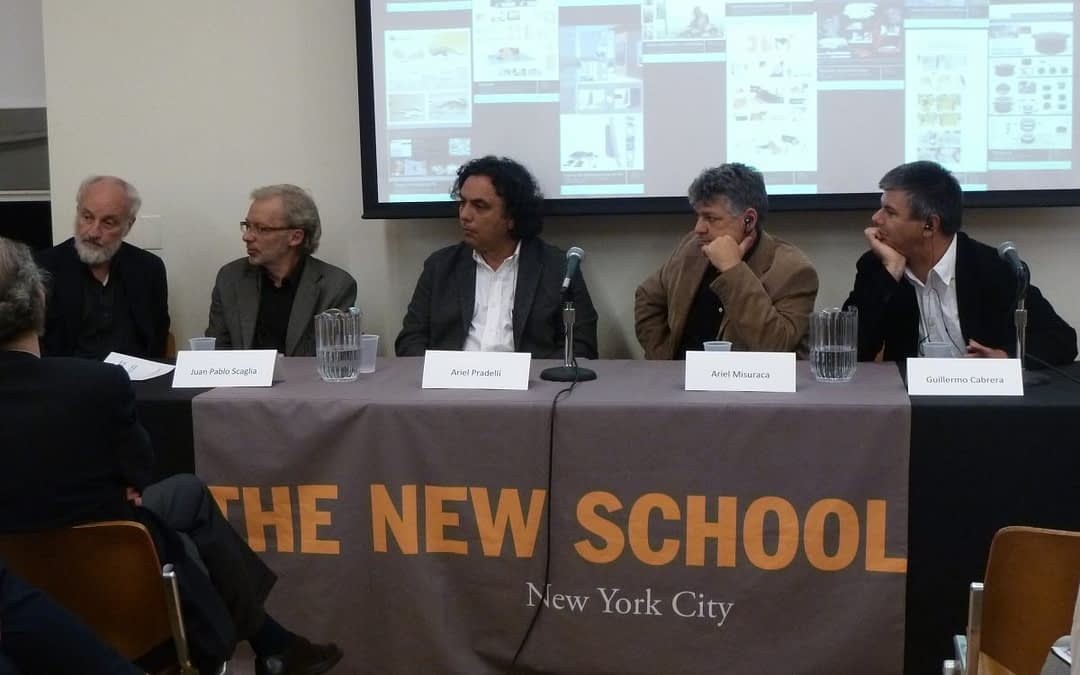 Southern Explorations in Design and Social Development. Panel by Faculty from FADU-UBA and The New School