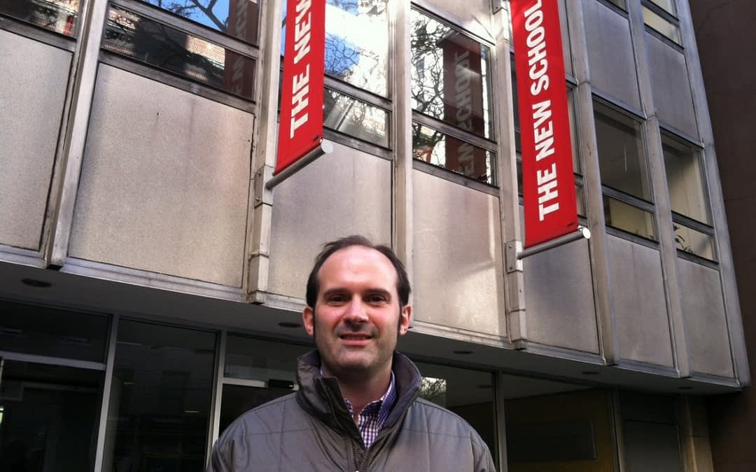 Germán Linzer, becario PNK 2013-2014 en The New School