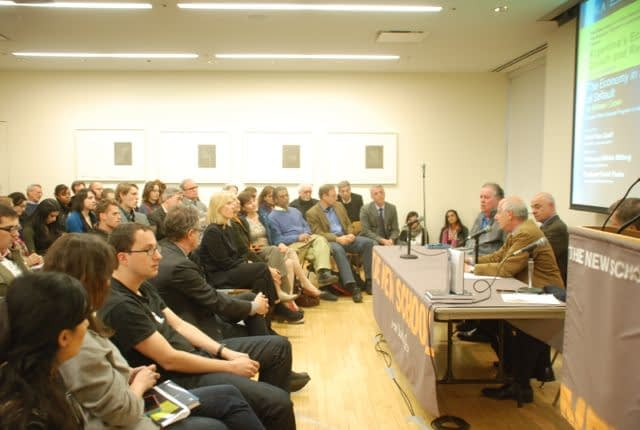 Michael Cohen launches new book to a packed audience at The New School