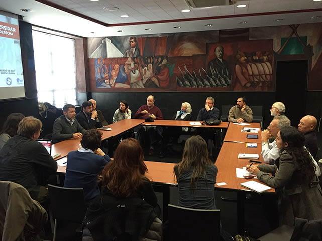 RESUMEN DE EVENTO · Una conversación con líderes sindicales y universitarios latinoamericanos