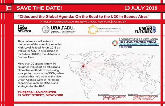 Ciudades y la Agenda Global: en camino hacia el U20 en Buenos Aires