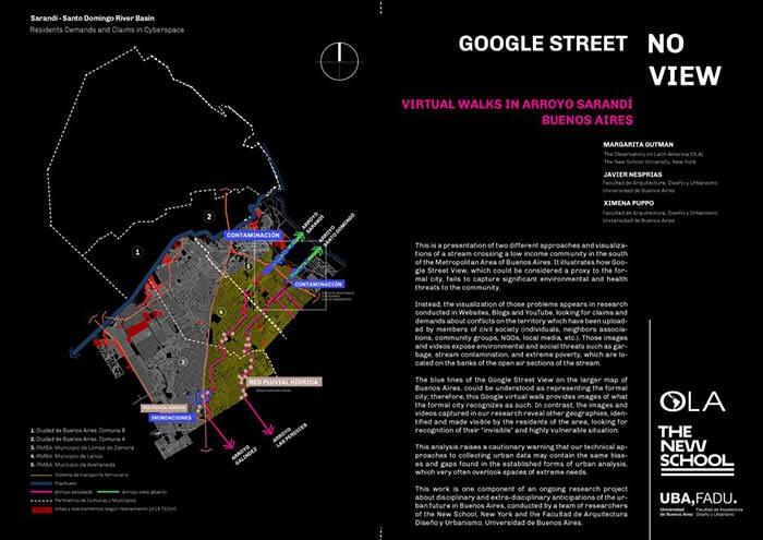 Investigación del OLA encuentra en Google Street View una «Divsión Digital» en cuestiones de medio ambiente, asentamientos informales