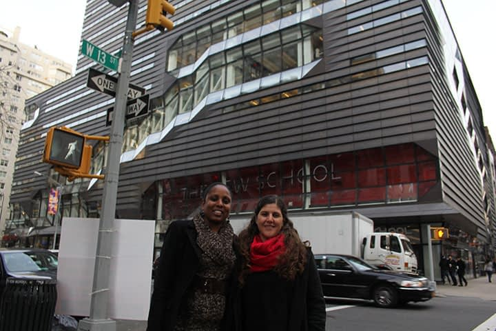 Laneydi Martínez, 2015-2016 President Néstor Kirchner Fellow, successfully completed her two week stay in New York