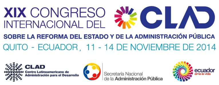 Presentación de la Beca PNK en el XIX Congreso Internacional del Centro Latinoamericano de Administración para el Desarrollo (CLAD)