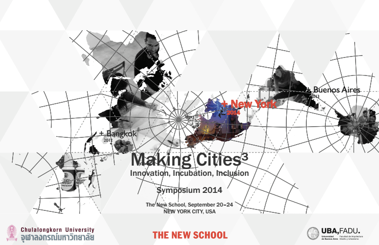 Making Cities I³: Innovation, Incubation, Inclusion. Third International Symposium